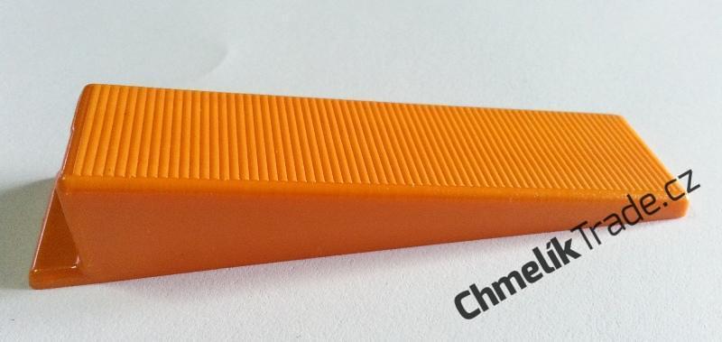 Klín Fixlevel (100ks/balení) (Pro snadnou a rychlou pokládku obkladů a dlažeb.)