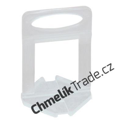 Spona Fixlevel (100ks/balení) pro dlaždice tloušťky 12-24 mm (Pro snadnou a rychlou pokládku obkladů a dlažeb.)