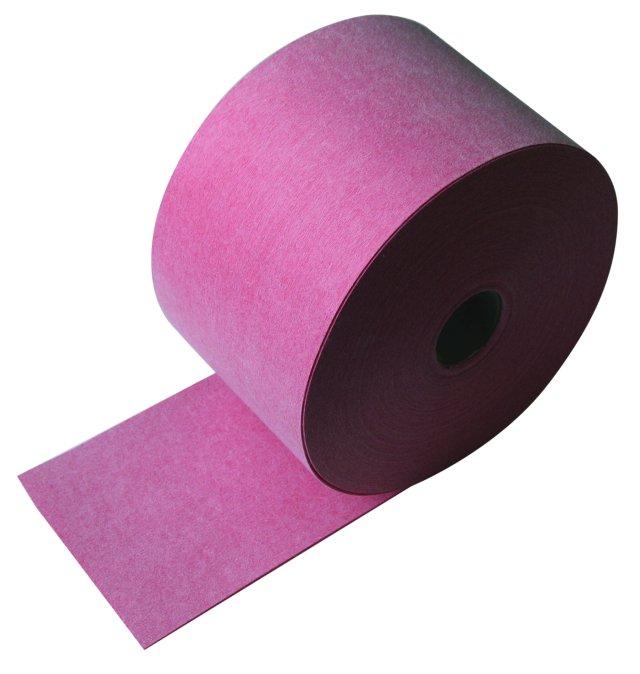 BATIZOL F120 - hydroizolační těsnící páska - červená fleece (50bm/bal) (Pro trvale pružné utěsnění stykových a rohových spár.)