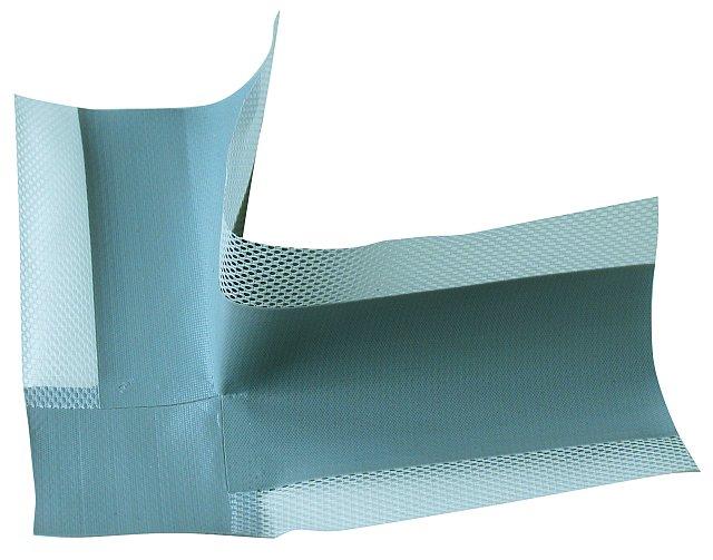 BATIZOL AR 120 mm těsnění rohové šedé (Systémová složka k těsnící pásce BATIZOL A120.)