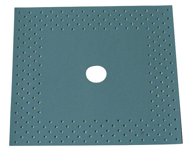 BATIZOL AMM 120x120mm těsnící manžeta šedá (K těsnění prostupů potrubních rozvodů.)