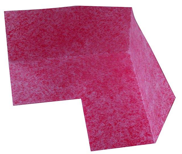 BATIZOL FK 120mm těsnění koutové červená fleece (Systémová složka k těsnící pásce.)