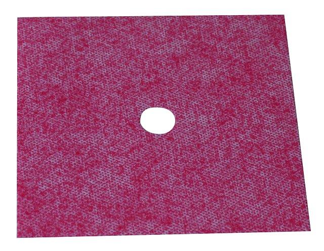 BATIZOL FMM těsnící manžeta 120x120mm červená fleece (K těsnění prostupů potrubních rozvodů.)