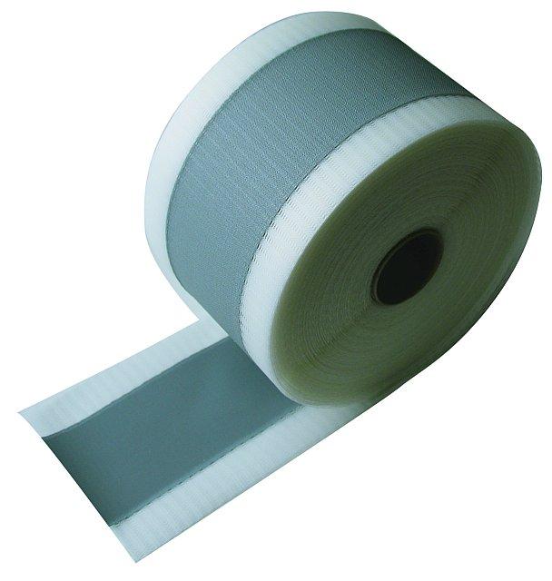 BATIZOL A120 - hydroizolační těsnící páska - šedá (Pro trvale pružné utěsnění stykových a rohových spár.)