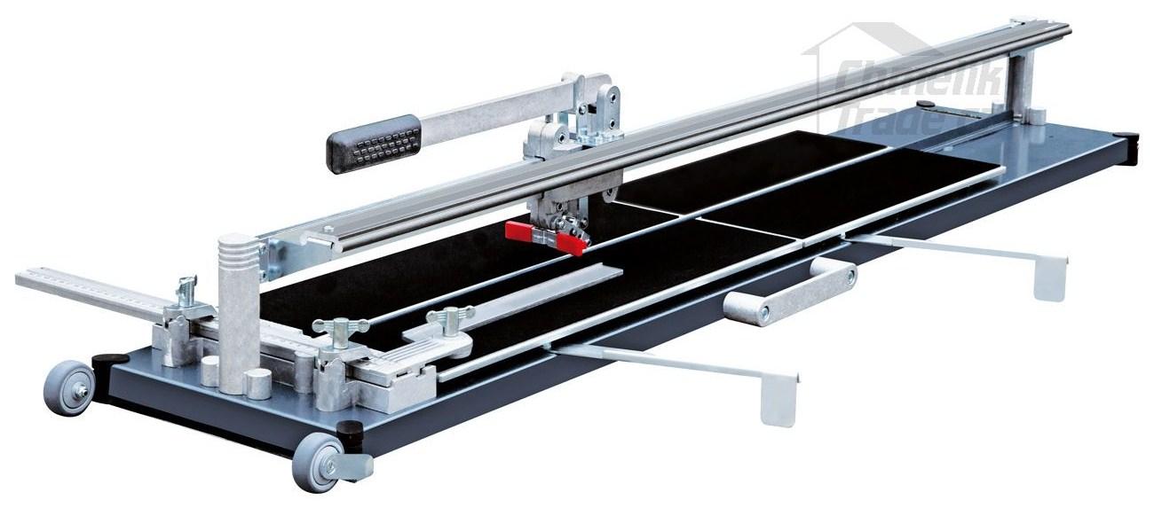 Řezačka Kaufmann TopLine PRO 1250 mm (Profesionální ložisková řezačka na obklady a dlažby.)