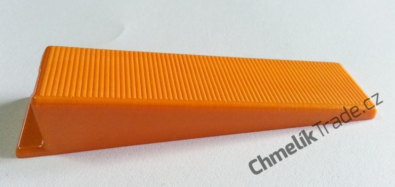 Klín Fixlevel (50ks/balení) (Pro snadnou a rychlou pokládku obkladů a dlažeb.)