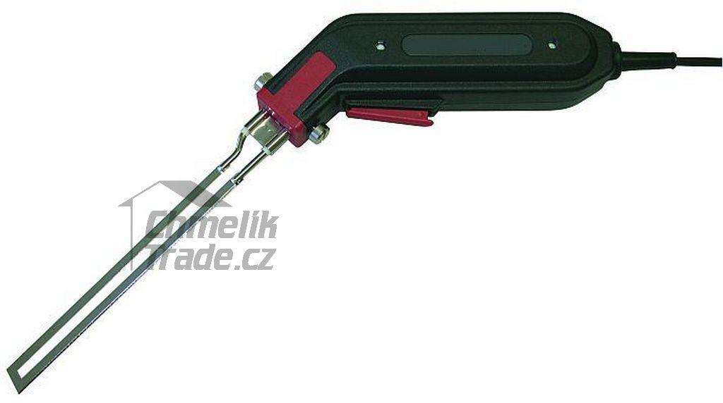 Řezačka na polystyren + nůž do 140 mm (Profesionální tavná řezačka na polystyren.)